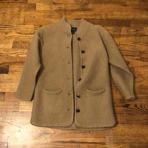 Herman Geist Tan Sweater Coat